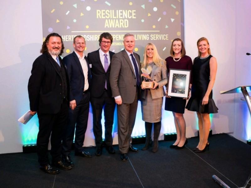 Award win at the NatWest SE100 Awards